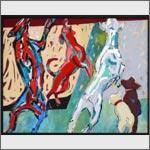 Der amerikanische Traum, 140 x 110 cm